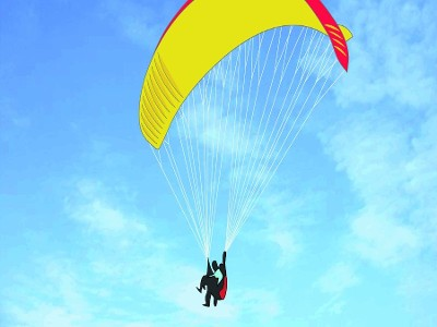 PARAGLIDER IN SANREMO: TWO-SEATER FLIGHTS